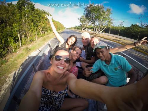 Auto stop en Punta Cana