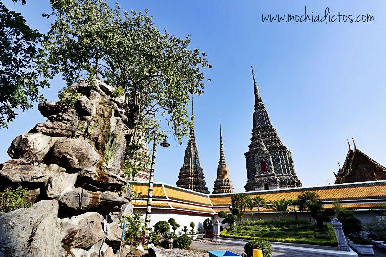 Bangkok día 3. Templos, budas, combate de Moe Tai