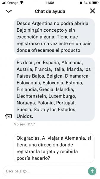Abrir cuenta N26 Argentina