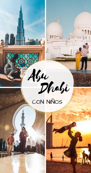 Abu Dhabi con niños