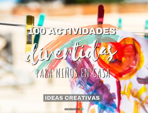100 Actividades DIVERTIDAS para niños en casa ¡Ideas creativas!
