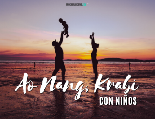 Krabi y Ao nang con niños y bebé ¡Mi experiencia y consejos!