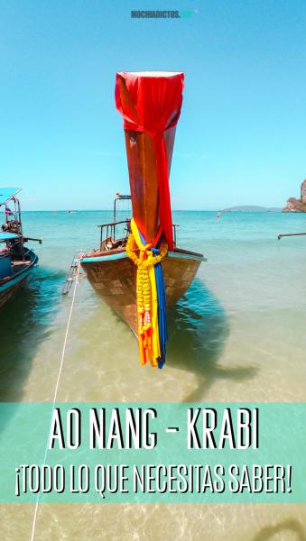 Ao Nang, Krabi. La mejor ruta Pinterest