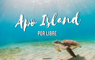 Apo Island por libre, Filipinas.