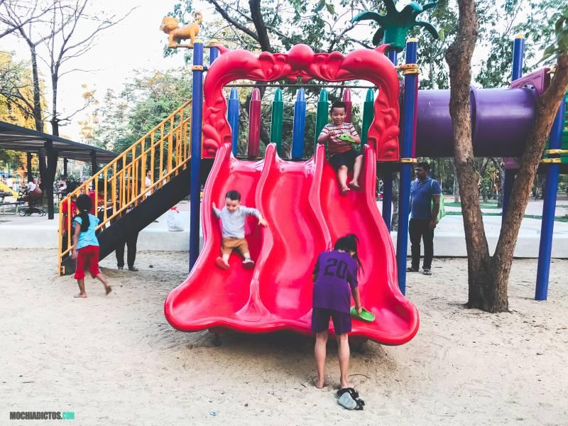 Bangkok con niños