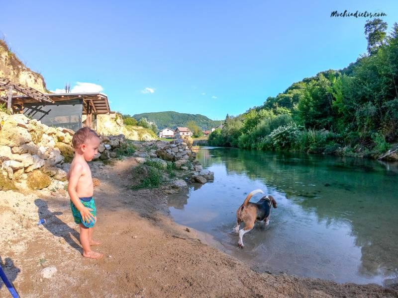 Bosnia con niños