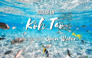 Bucear en Koh Tao, Open Water