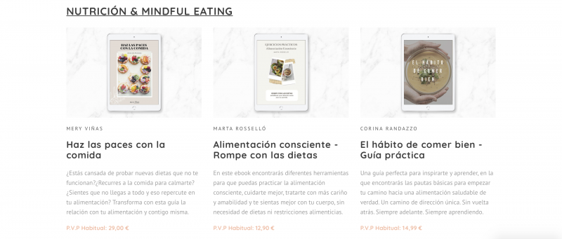 Bundle de Ebooks Nutrición de Mindful eating reviews y opiniones