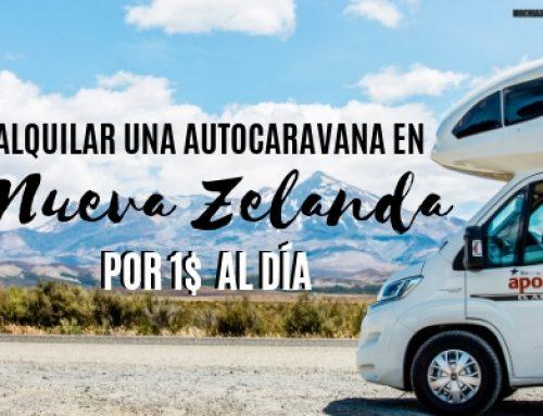 Relocation: Como alquilar una autocaravana en Nueva Zelanda barata (1$ día)