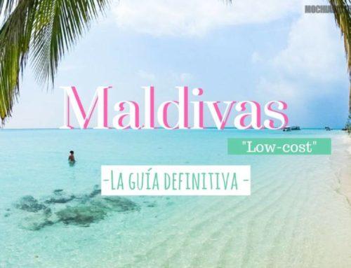 """Viajar a Maldivas """"Low cost"""". La guía definitiva para viajar por libre o de mochilero."""