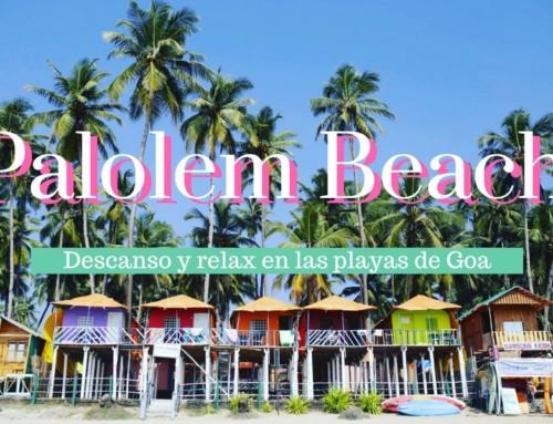 Palolem beach, descanso y relax en las playas de Goa