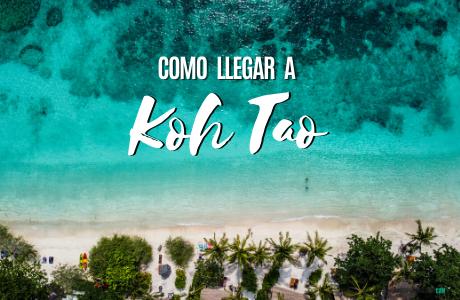 Como llegar a Koh Tao