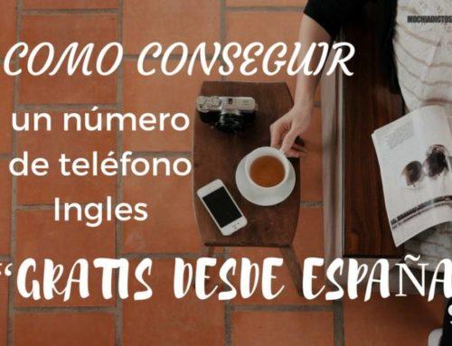 """Como conseguir un número de teléfono Ingles """"Tarjetas Giff Gaff gratis desde España"""""""