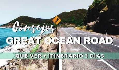 Consejos Great Ocean Road,Australia. Guía de viaje, Que ver e itinerario de tres días. www.mochiadictos.com