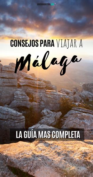 Consejos para viajar Málaga, Pinterest.