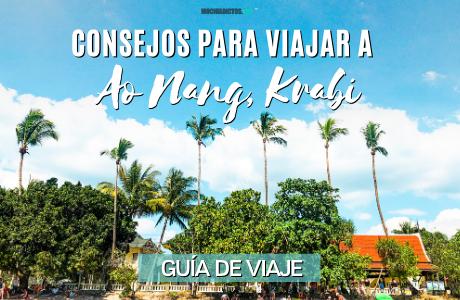Consejos para viajar a Ao Nang, Krabi
