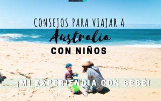 Consejos para viajar a Australia con niños