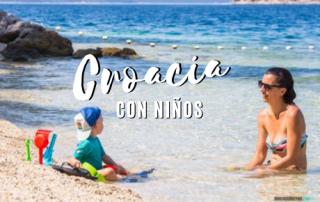 Consejos para viajar a Croacia con niños