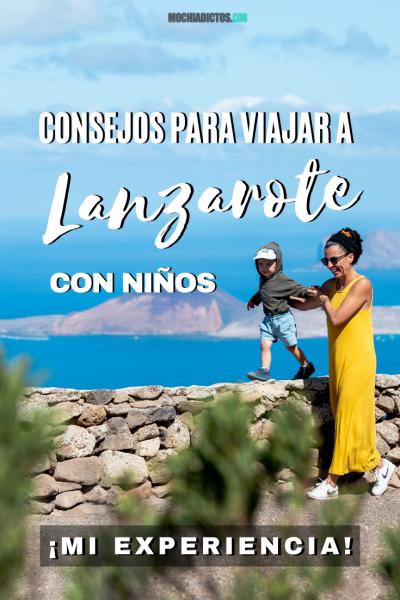 Consejos para viajar a Lanzarote con niños, Pinterest
