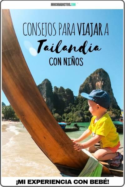 Consejos para viajar a Tailandia con niños