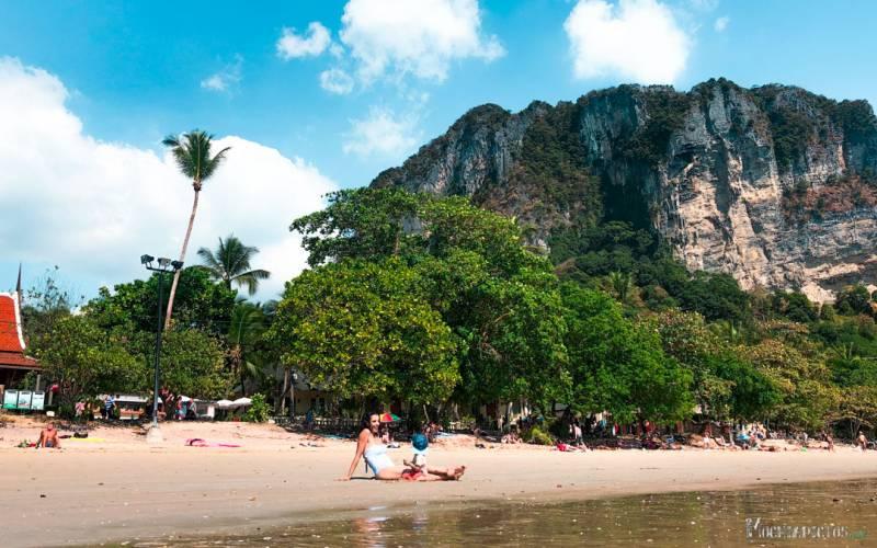 donde alojarse en Ao Nang Beach
