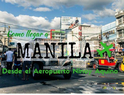 Aeropuerto internacional Ninoy Aquino de Manila. Como llegar al centro de la ciudad, datos que debes saber.