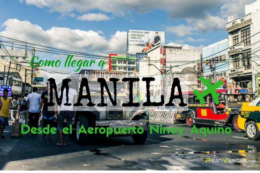 Como llegar a Manila desde el aeropuerto Ninoi aquino