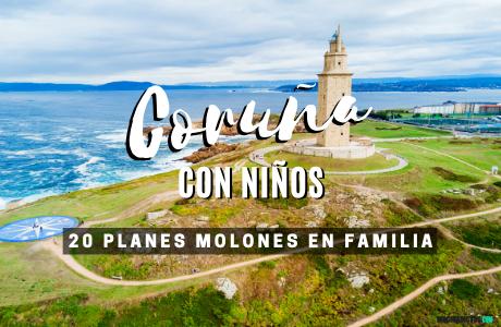 Coruña con niños