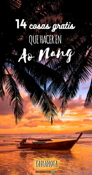 Cosas gratis que hacer en Ao Nang