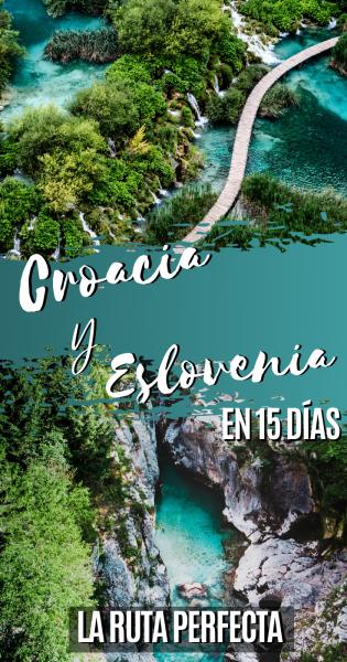 Croacia y Eslovenia en 15 días, Pinterest