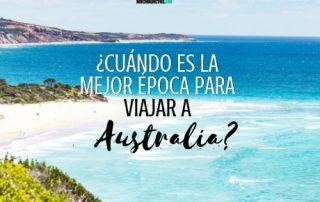 Cuándo es la mejor época para viajar a Australia