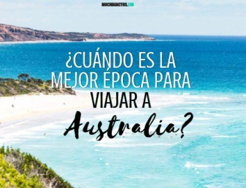 ¿Cuál es la mejor época para viajar a Australia? ¿Cuándo ir?