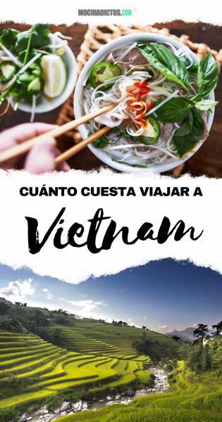 Cuanto cuesta viajar a Vietnam.