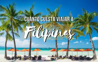 Cuanto cuesta viajar a Filipinas