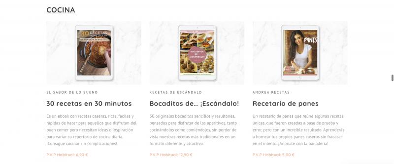 Desventajas y ventajas de Bundle de Ebooks Cocina