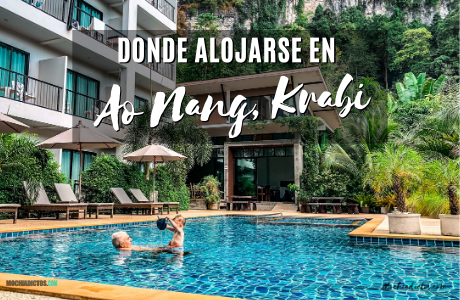 Donde alojarse en Ao Nang, Krabi