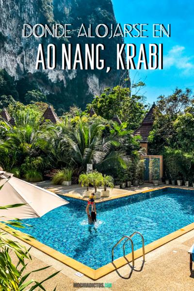 Donde alojarse en Ao Nang, Krabi. Pinterest.