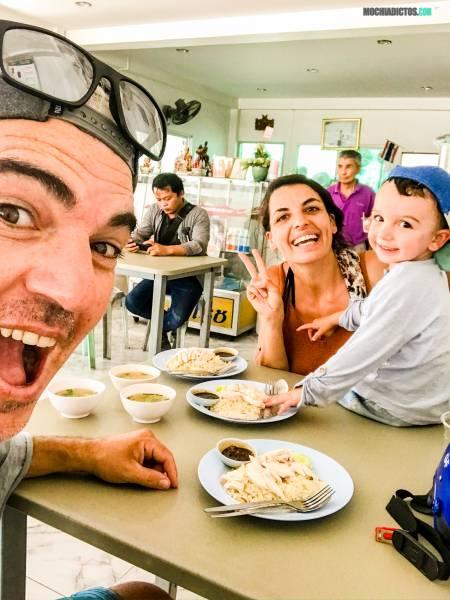 Donde comer en Koh Phangan con niños