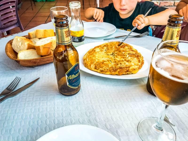 Donde comer en Frigiliana 1