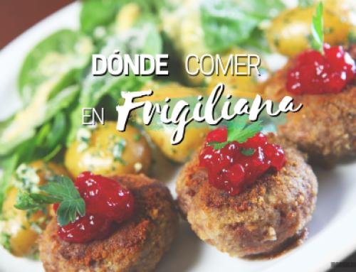 Donde comer en Frigiliana [Bien y barato]