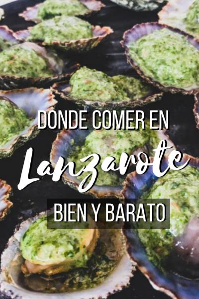 Donde comer en Lanzarote barato Pinterest