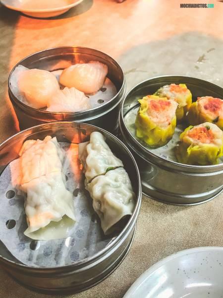 mejores dim sum en Penang