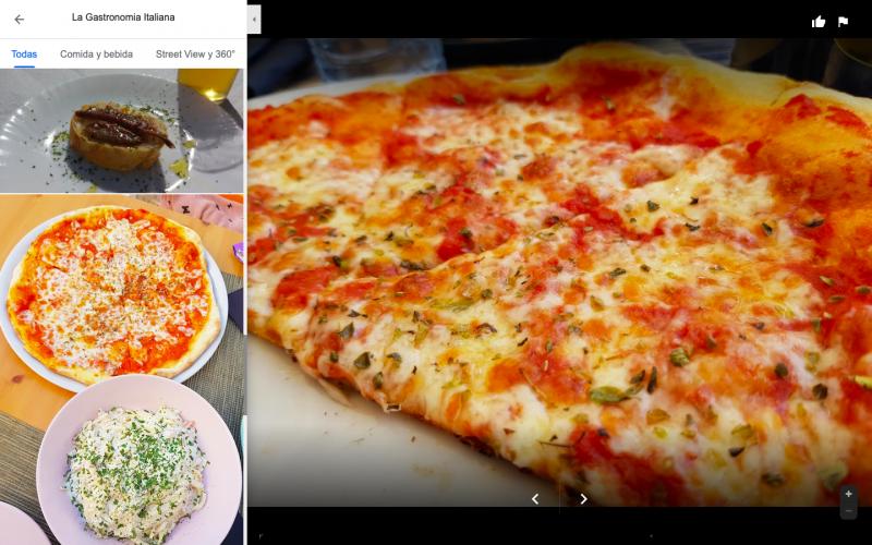 Donde comer pizza en Nerja
