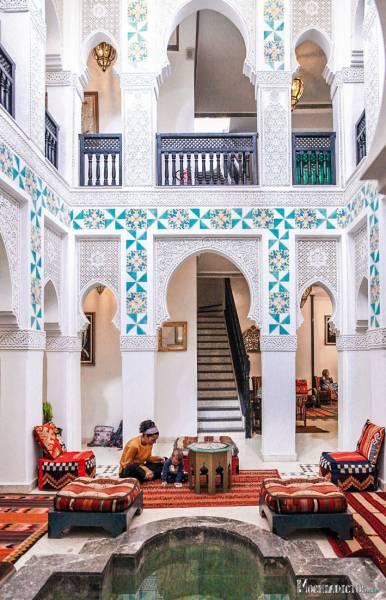 Donde dormir en Marrakech www.mochiadictos.com