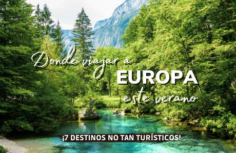 Donde viajar a Europa este verano
