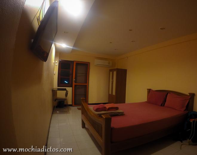 Nuestra habitación en Ayutthaya