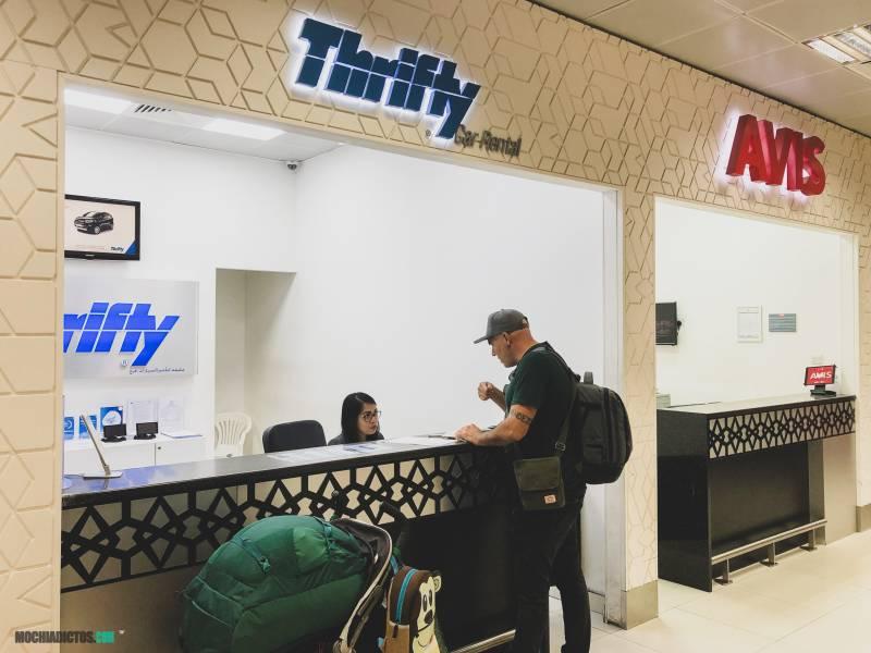 Dubai en coche de alquiler