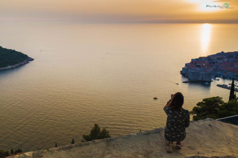Viendo la puesta de Sol desde las alturas :) Franvargas.com
