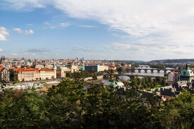 Río Moldava - 35 mejores cosas que ver y hacer en Praga