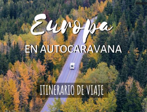 Europa en autocaravana [Mejores rutas en camper por el viejo continente]